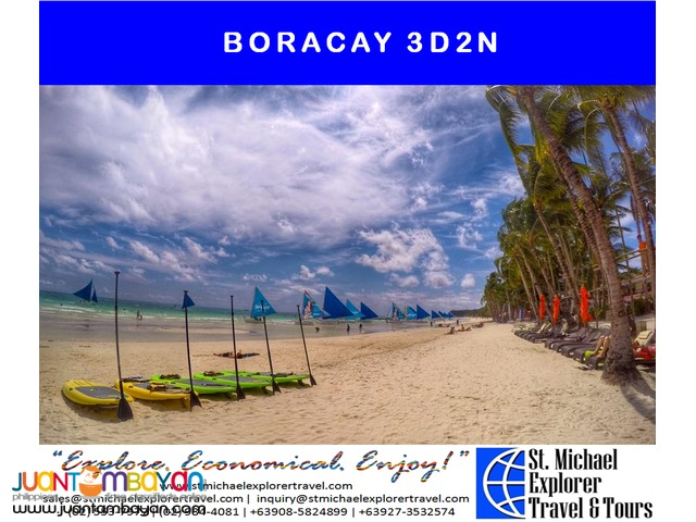 BORACAY 3D2N TOUR PACKAGE