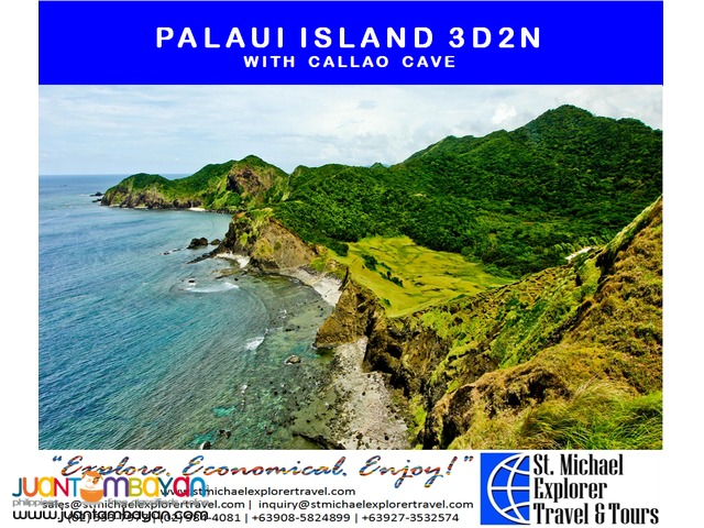 PALAUI ISLAND 3D2N TOUR PACKAGE