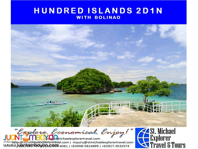 HUNDRED ISLANDS 2D1N TOUR PACKAGE