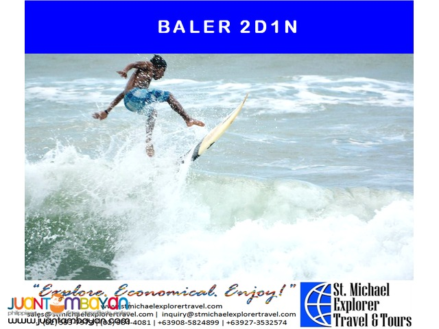 BALER 2D1N TOUR PACKAGE