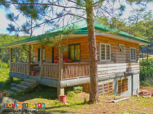 Sagada Log Cottage