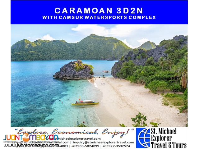 CARAMOAN 3D2N TOUR PACKAGE