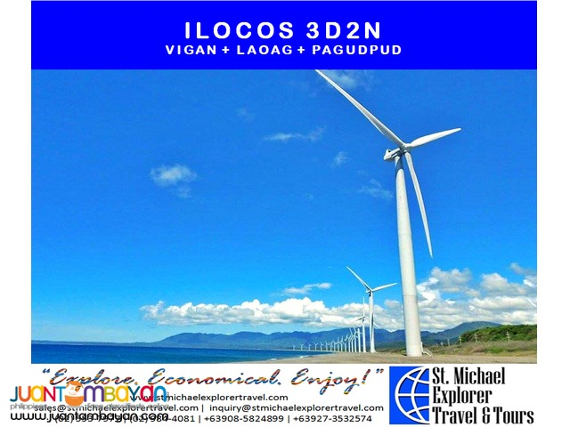 ILOCOS 3D2N TOUR PACKAGE