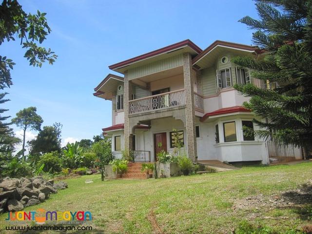 4,000 SQM Lot with 4BR House - Tuba, Benguet