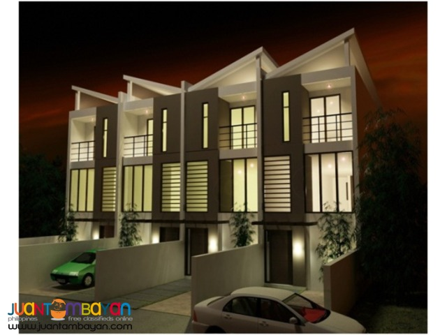 PH50 Classy Congressional Townhouse in QC