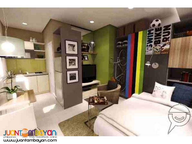 Condominium in Mandaluyong near Wack Wack Golf and Country Club