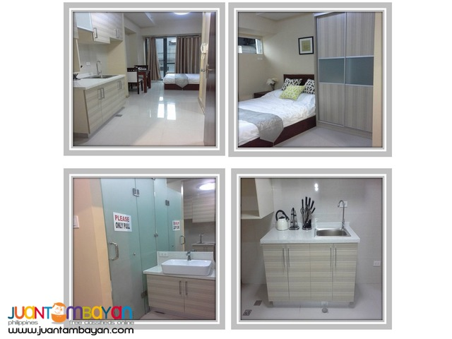 RFO Studio condo unit located near sm north and trinoma!