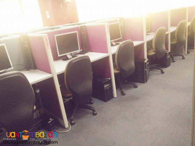 URGENT/PROMO: AFFORDABLE CALL CENTER SEAT LEASE @ ORTIGAS