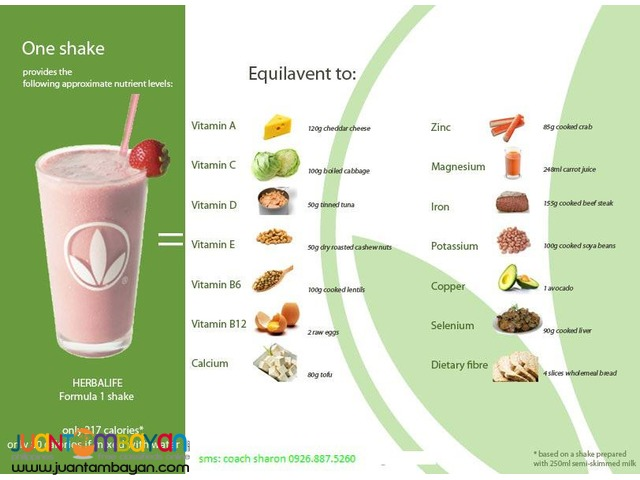 Herbalife Shake Program, For Loss Weight