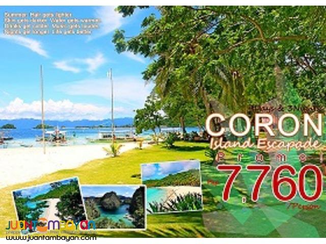 Visit coron escape the city & Hop to the Paradise,
