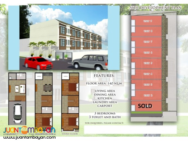 PH72 Cubao Quezon City Townhouse