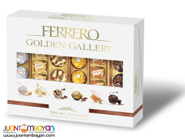 Ferrero Golden Gallery For Sale