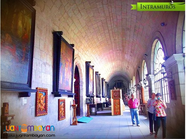 Intramuros is one of the most notable destinations in Manila