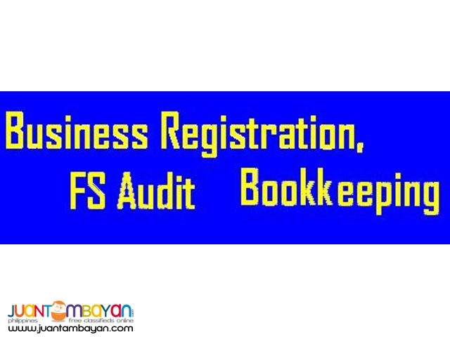 Accounting, Bookkeeping, Business Registration,