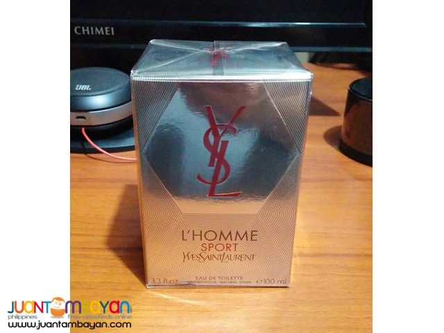 Yves Saint Laurent L'Homme Sport 100mL Men's Fragrance