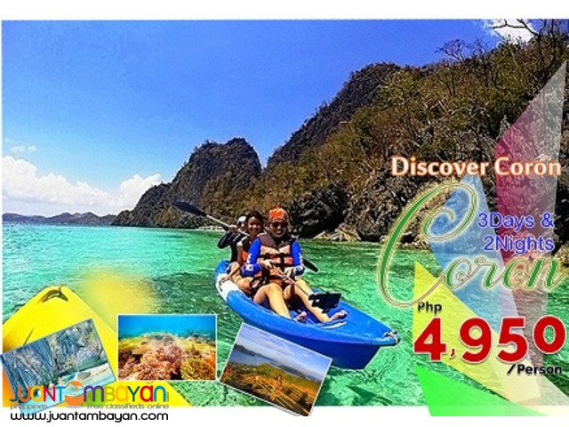 Travel to Coron Get the most exciting travel Experience