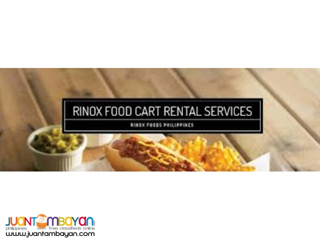 Rinox Food Cart Rental Philippines