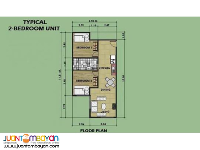 Condo in Mandaluyong near Greenhills