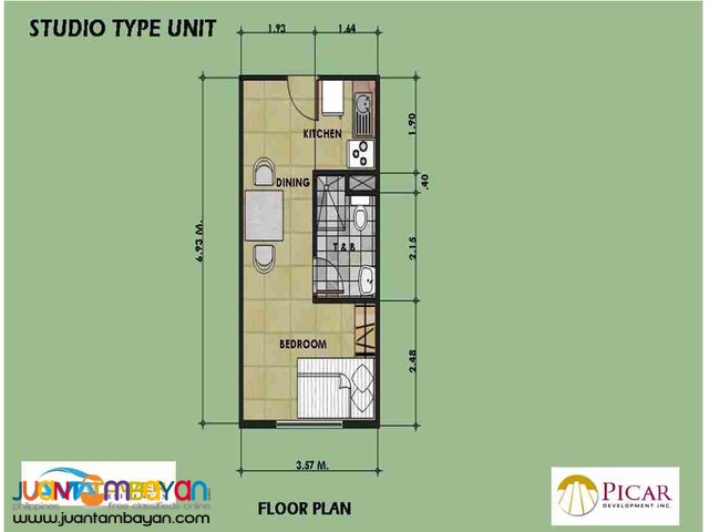 Loft Type Condo in Metro Manila For Sale