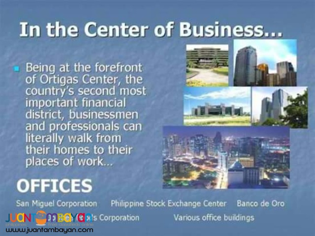 Condominium Investment in Metro Manila near Central Business Districts