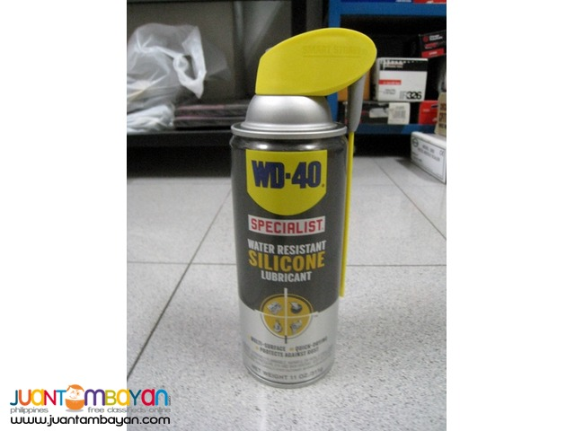 WD-40 Specialist Water Resistant Silicone Lubricant Spray 11 oz.