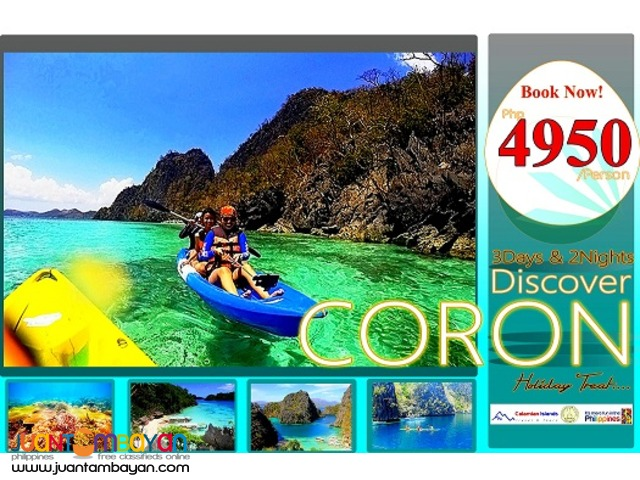 Discover Coron 3Days & 2Nights Package