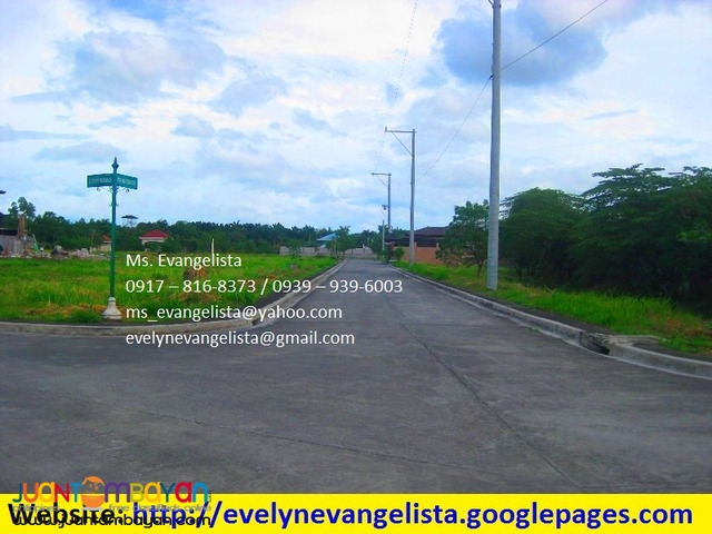 Res. lot for sale in Parkwood Greens Exec. Village Maybunga Pasig City