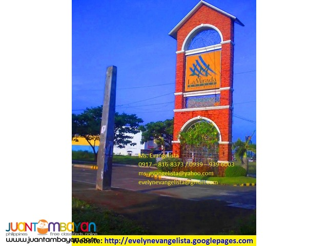 Res. lot for sale in La Mirada Royale Plaridel Bulacan
