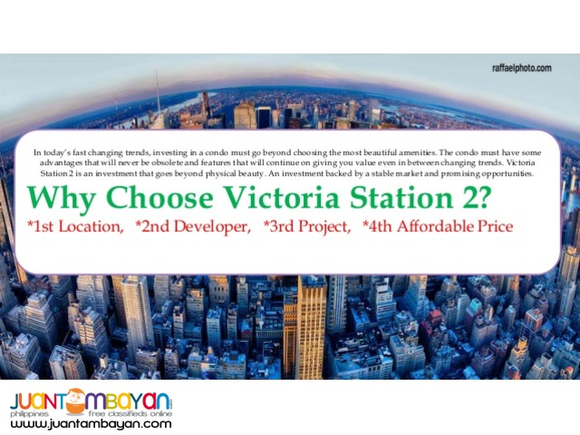 Condominium in Victoria Sports Tower Station 2