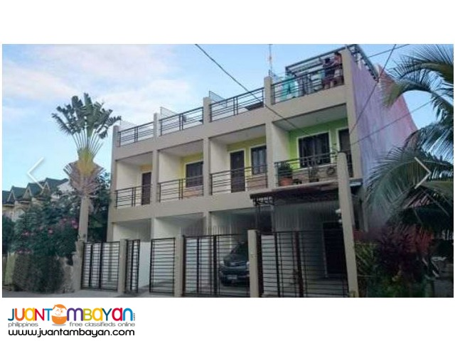 PH256 Townhouse in Marikina For Sale