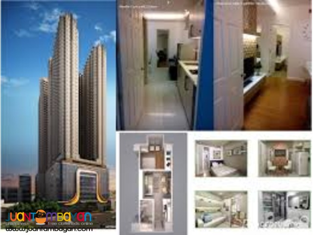 Affordable condo along EDSA, beside GMA MRT - Victoria Sports Tower