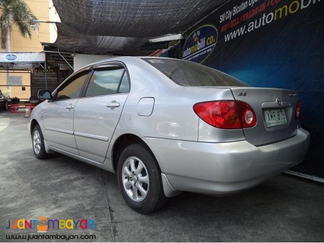 2006 Toyota Altis E