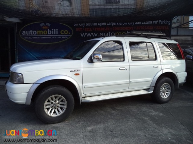 2005 Ford Everest