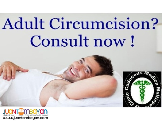 Adult Circumcision Consultation and Treatment