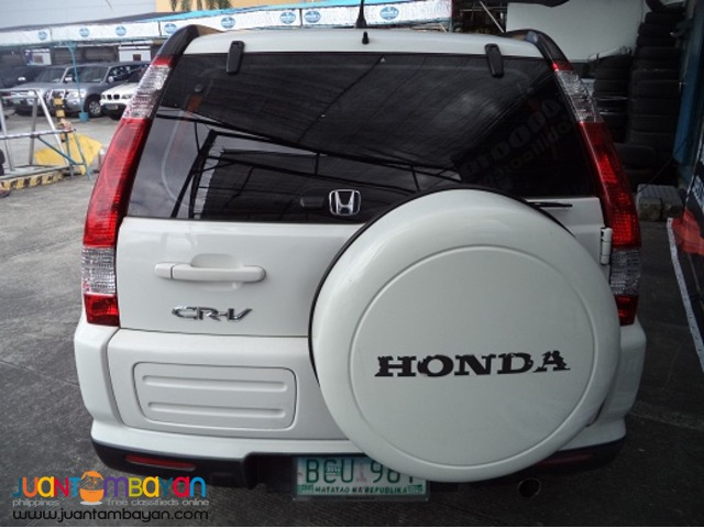 2007 Honda CRV AUTOMOBILICO