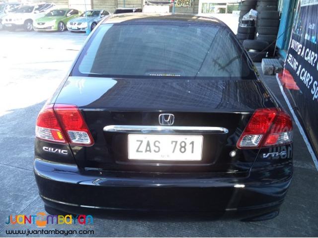 2005 Honda Civic VTi-S AUTOMOBILICO