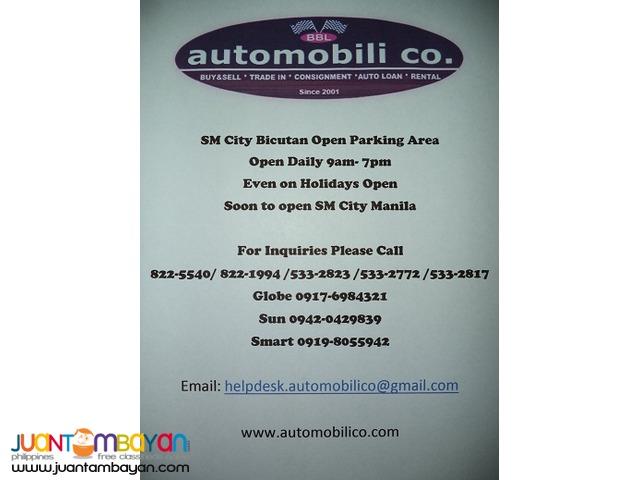 2011 MITSUBISHI ADVENTURE GLX AUTOMOBILICO