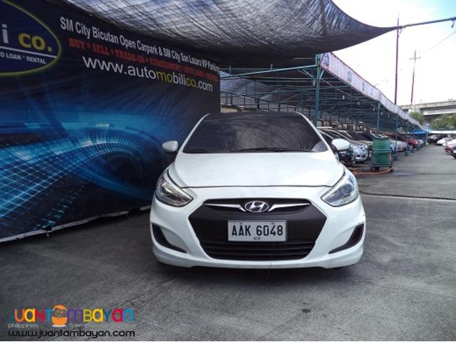 2015 HYUNDAI ACCENT AUTOMOBILICO