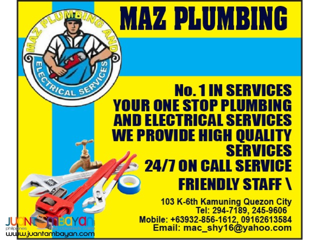 Maz Plumbing and Electrical Services