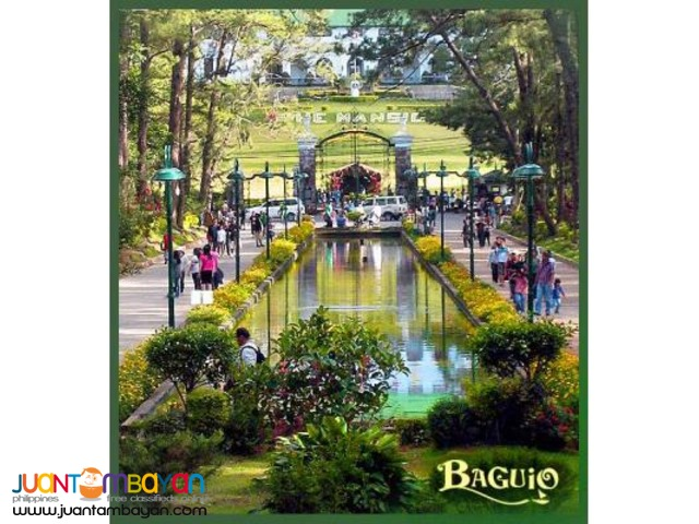 Baguio tour package, 4 nights stay at Regal Lexber Homes