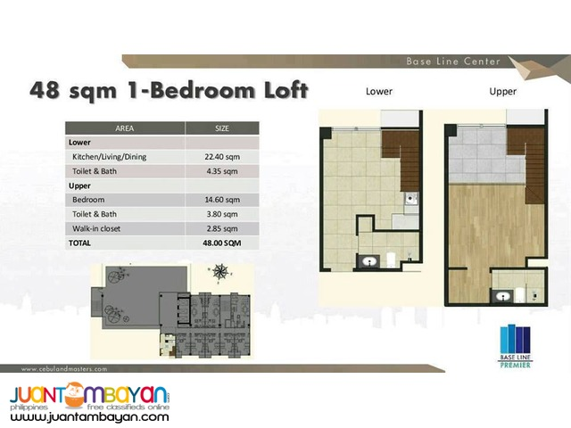 Affordable condo in BASELINE CENTER Cebu city