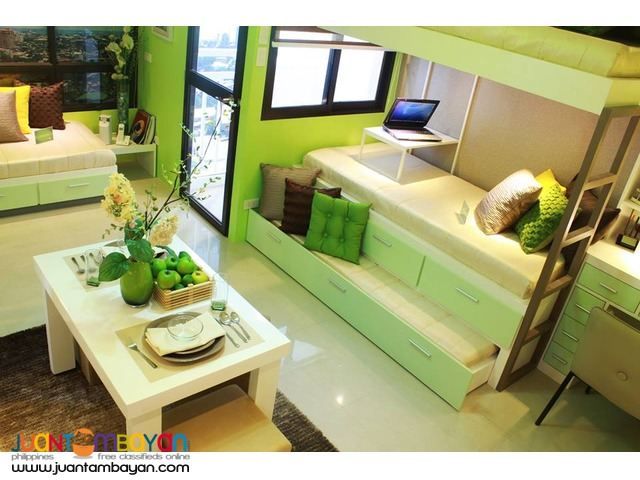 RFO Condo for sale near at SM City and Ayala Center Mall