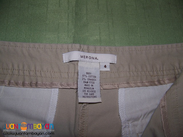 Pre-Loved, CAP8115 MERONA Ladies Pants. Bought in USA.