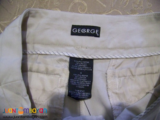 Pre-Loved CAP810 GEORGE Ladies Pants. Bought in USA.
