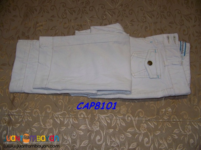 Pre-Loved CAP8101 AEROPOSTALE. Lady's Pants. Bought in USA.