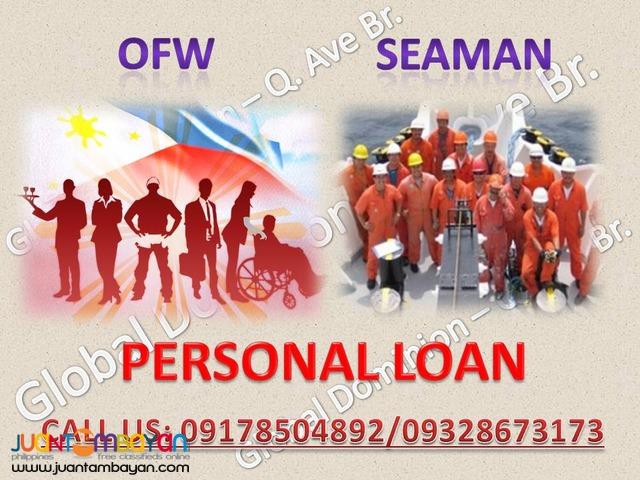 Personal Loan (OFW & Seaman)