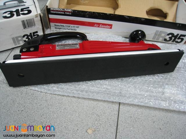 Ingersoll Rand IRT315 Heavy Duty Air Twin Piston Straight Line Sander