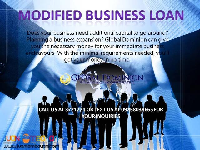 Business Loan - Corporate Loan - Modified Business Loan
