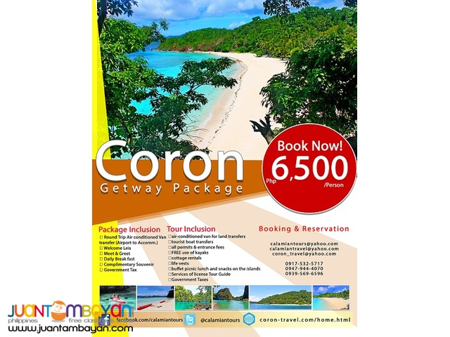 Escape the city Travel to Coron