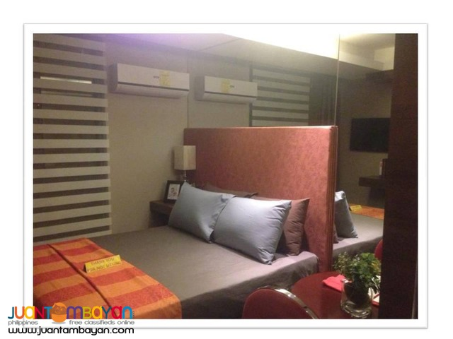 Affordable studio condo unit near SM North and Trinoma QC.